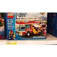 Target Deal: Lego City Fire Truck $6 @ Target B&M ($20 @ Amazon) YMMV