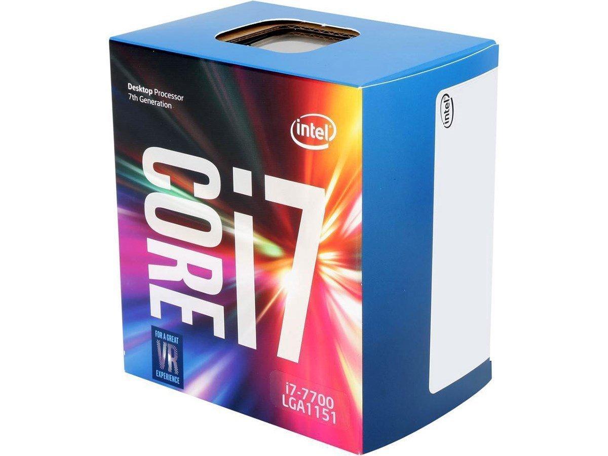Intel Core i7-7700 Desktop Processor  $259 @ Amazon