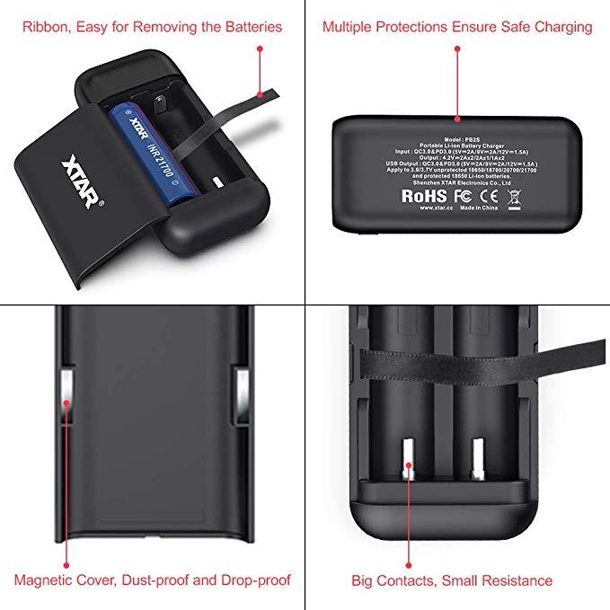 Xtar PB2S QC 3.0 + PD 3.0 Portable Li-ion Charger and Powerbank $14.99 +S&H @Illum