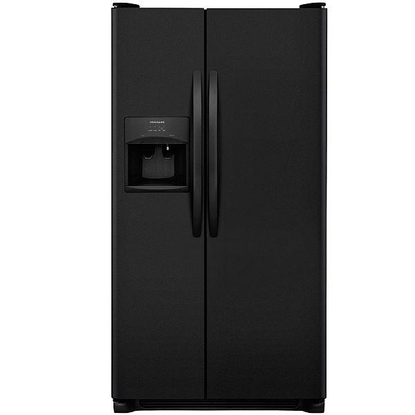 Frigidaire 25 5 Cu Ft Side By Side Refrigerator W Ice
