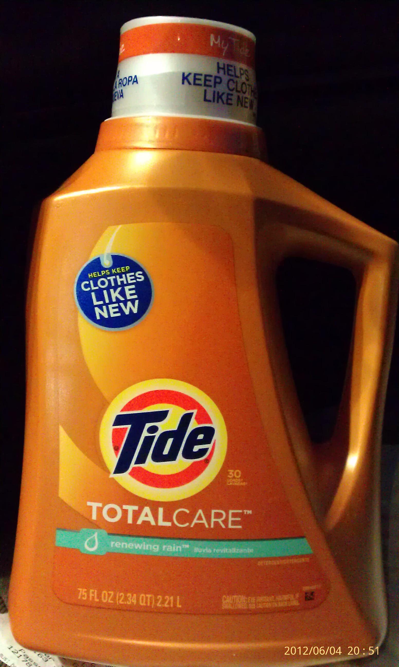 Tide Totalcare Liquid Detergent 75 oz for $2.63 @ Lowes -YMMV