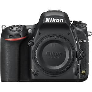Nikon D750 Full-Frame DSLR Camera Refurb BuyDig - $1,229.99 $1229.99