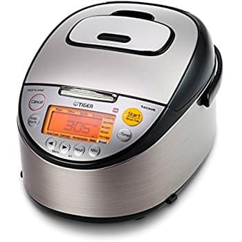 Tiger 5.5 Cup Induction Heating Rice Cooker with Slow Cooker and Bread Maker 1080W (JKT-S10U) $219.99 + Free Shipping @ Amazon