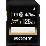 Sony 128GB SDXC Class 10 UHS-I Memory Card $38.95 @ B&H Photo w/ Free Shipping