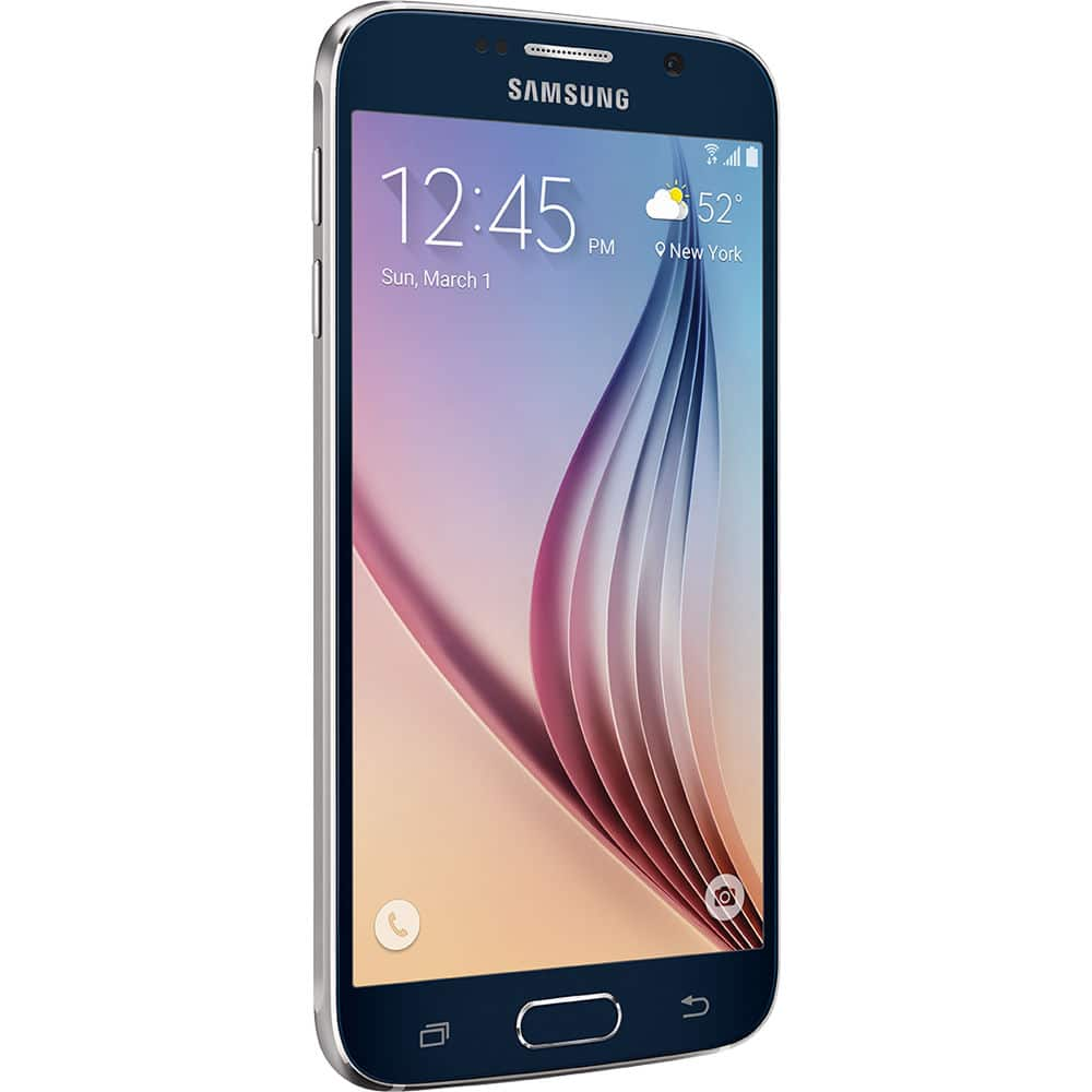 Samsung Galaxy S6 SM-G920T, 32GB, Battery Pack, Qi Charging Pad, Protective Cover - $400 + Free Expedited Shipping at B&H