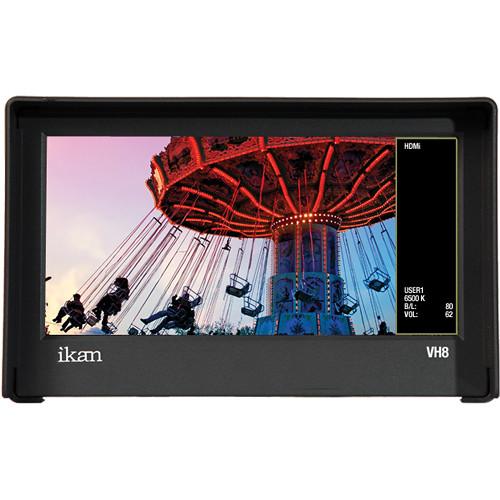 "ikan VH8 8"" Camera Monitor w/ Canon E6 Battery Plate $139.95 @ B&H Photo w/ Free Shipping"