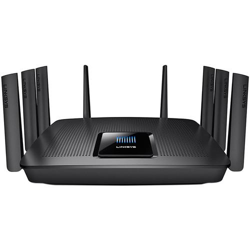 Linksys EA9400 Tri-Band Wireless-AC5000 MAX-STREAM MU-MIMO Gigabit Router $199.95 @ B&H Photo w/ Free Shipping