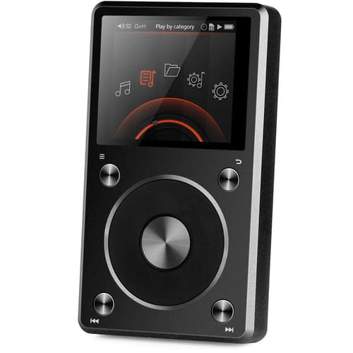 X5 (2nd Gen) Portable High-Resolution Audio Player (Black) @ B&H Photo w/ Free Shipping $179.95