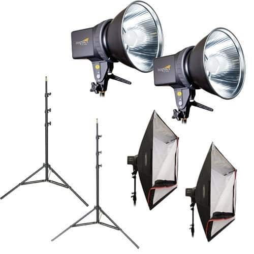 Impact Two Monolight Kit without Bag (120VAC) $199.80 @ B&H Photo w/ Free Shipping