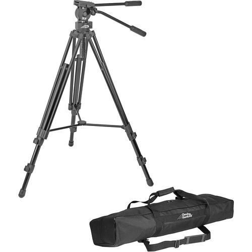 Davis & Sanford - 64 inch ProVista 7518XB Pro Video Tripod w/ Fluid Head + Case - Black $99.95 / $129 w/ Dolly @ B&H Photo w/ Free Shippinh