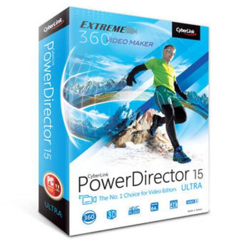 CyberLink PowerDirector 15 Ultra (DVD) $39.99 @ B&H Photo w/ Free Shipping