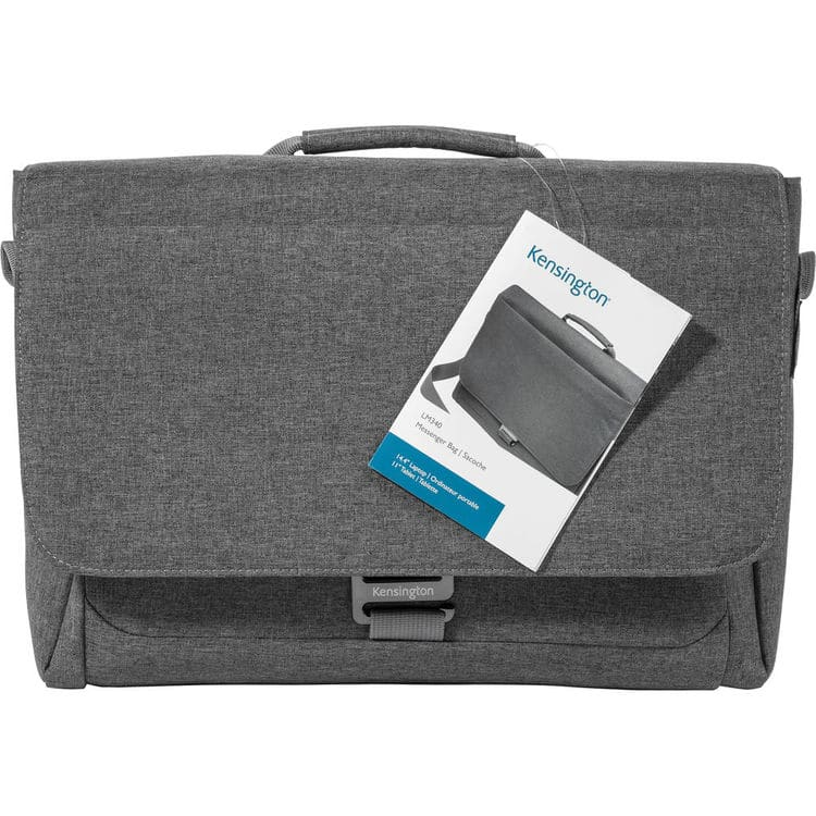 "Kensington K62623WW Carrying Case (Messenger) for 14.4"" Notebook, Tablet - Cool Gray $29.95 @ B&H Photo w/ Free Shipping"