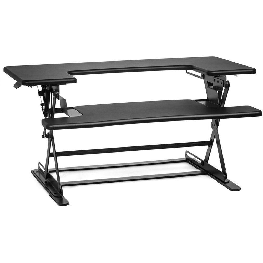 Halter ED-600 Height Adjustable Desk Sit / Stand Desktop (Black or Cherry) $129.99 @ B&H Photo w/ Free Shipping