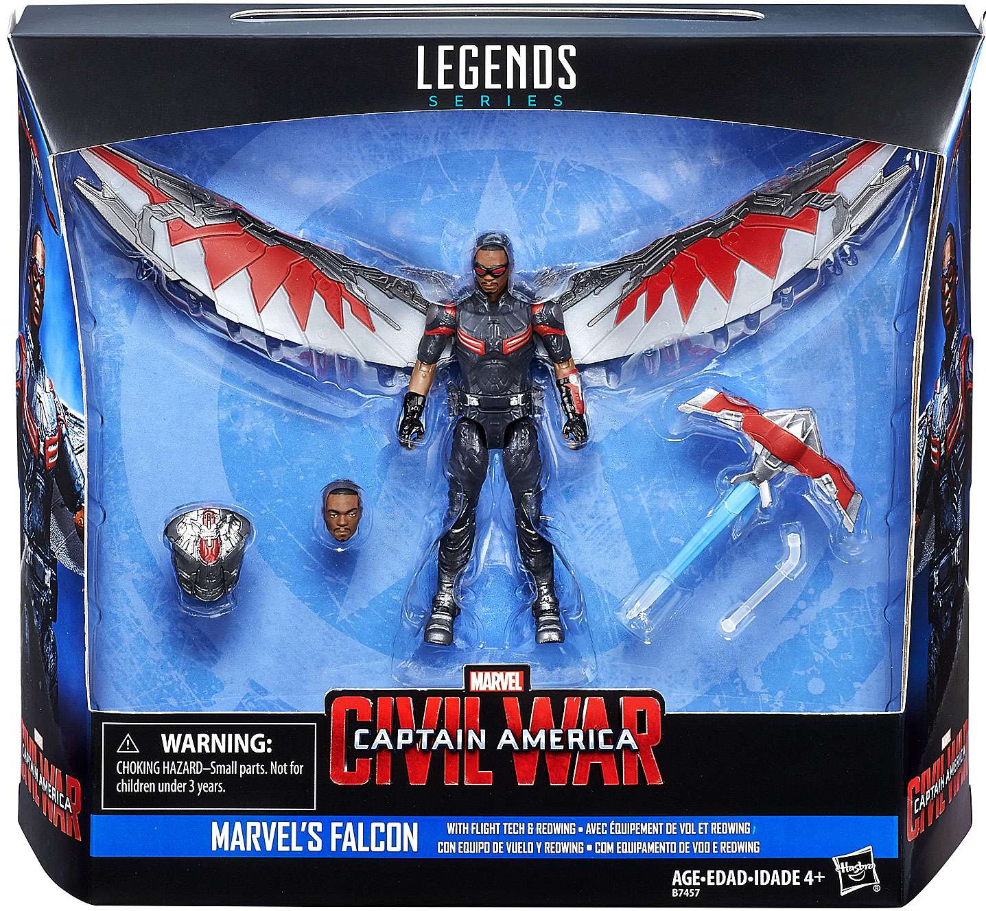 Marvel Legends Series Falcon w/ Flight Tech and Redwing $3.88 @ Walmart.com w/ Free In-Store Pickup