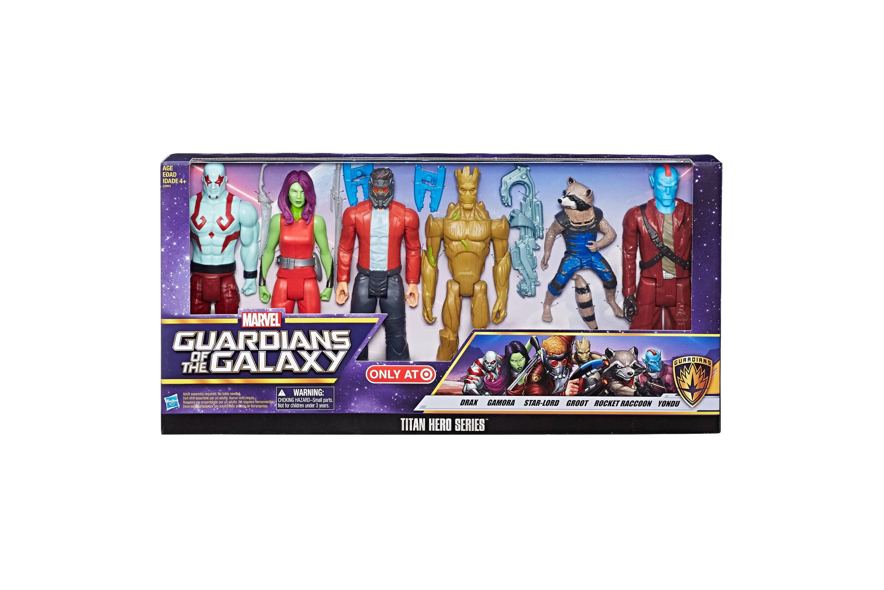"""Marvel 12"""" Guardians of the Galaxy Titan Hero Series 6-Pack $16.80 w/ Redcard @ Target.com w/ Free Shipping or In-Store Pickup"""