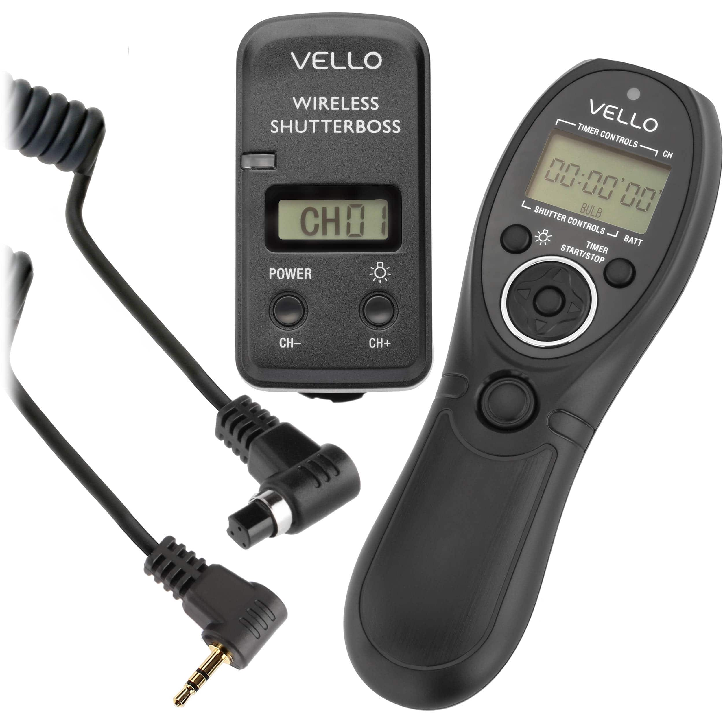 Vello Wireless ShutterBoss III Remote Switch w/ Digital Timer for Select Cameras $49 @ B&H Photo w/ Free Shipping