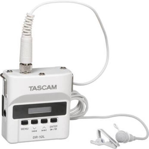 Tascam DR-10L Digital Audio Recorder with Lavalier Mic (White) $139.99 @ B&H Photo w/ Free Shipping