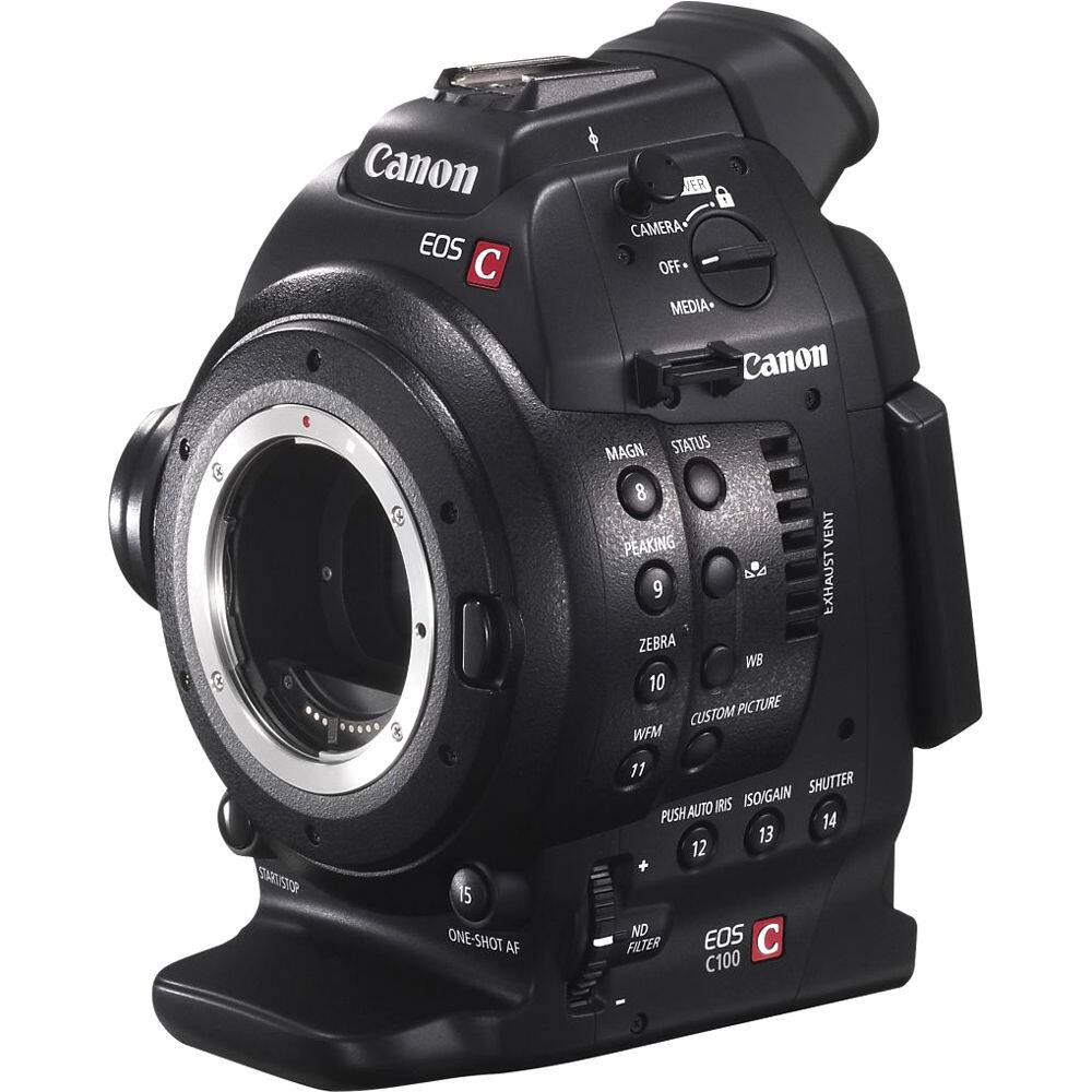 Canon EOS C100 Cinema Camcorder Body - EF Lens Mount $1699 @ B&H Photo w/ Free Shipping