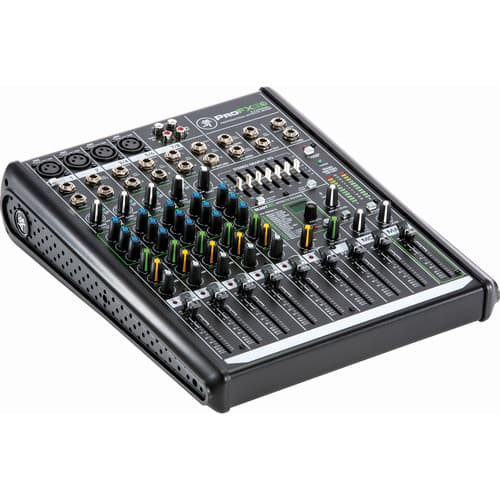 Mackie ProFX8v2 8-Channel Sound Reinforcement Mixer w/ Built-In FX $129.99 / 12-Channel $169.99 @ B&H Photo w/ Free Shipping