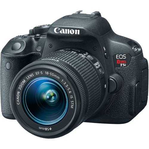 Canon  EOS Rebel T5i DSLR Camera w/ 18-55mm Lens $449 @ B&H Photo w/ Free Shipping