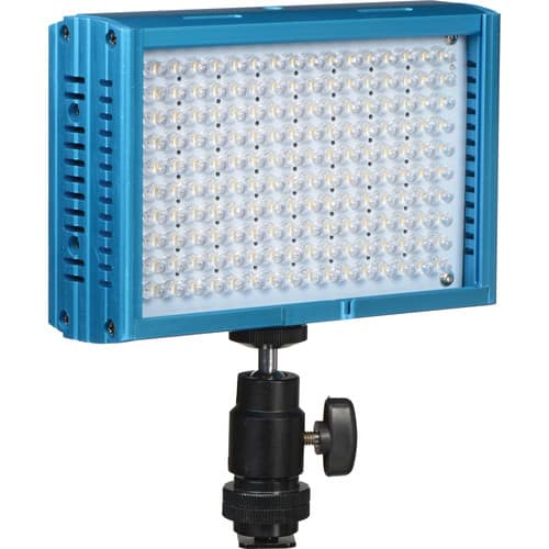 Dracast LED160 3200-5600K Variable Color On-Camera Light (Aluminum, Blue) $69.95 @ B&H Photo w/ Free Shipping