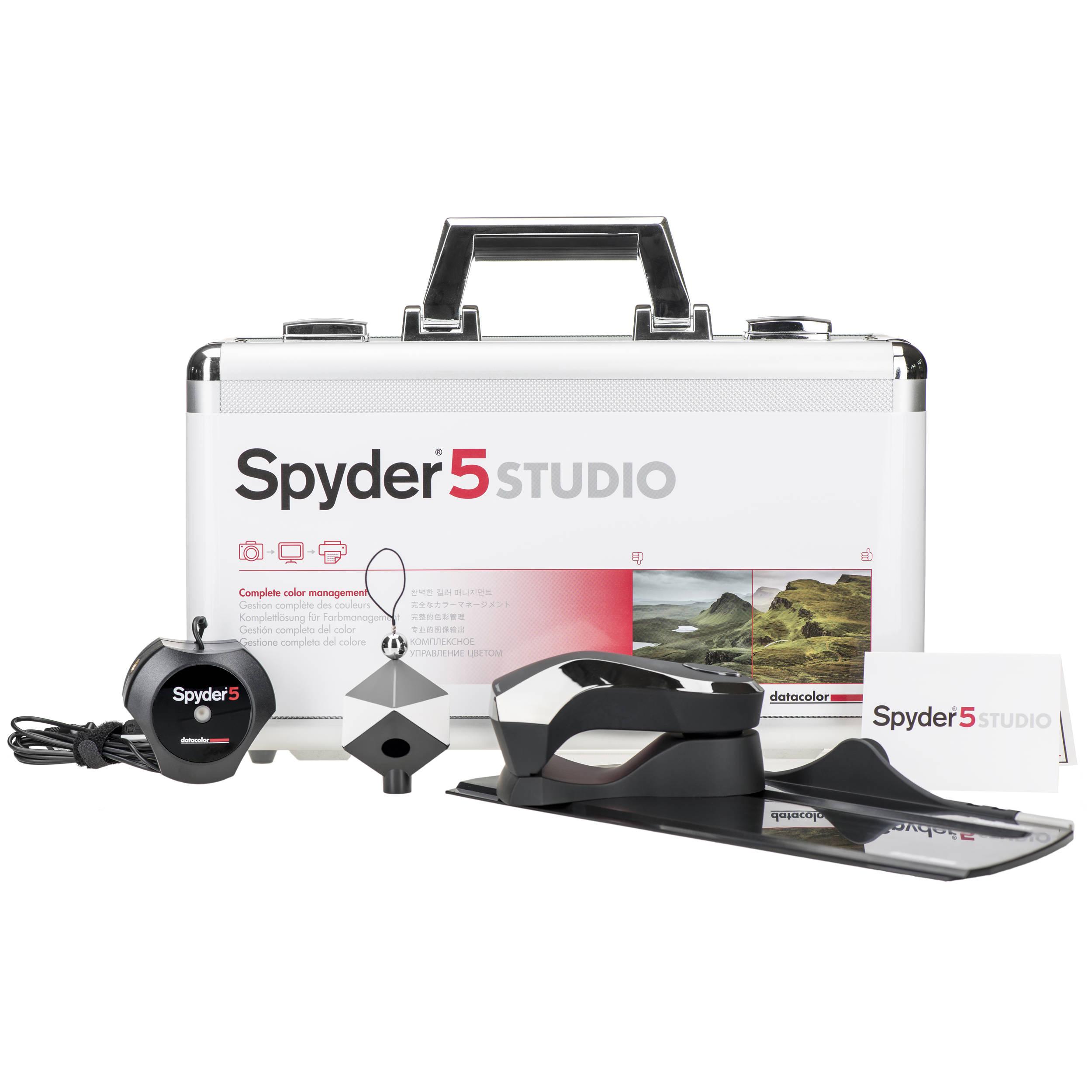 Datacolor  Spyder5STUDIO Color Calibration Bundle $299 @ B&H Photo w/ Free Shipping $299