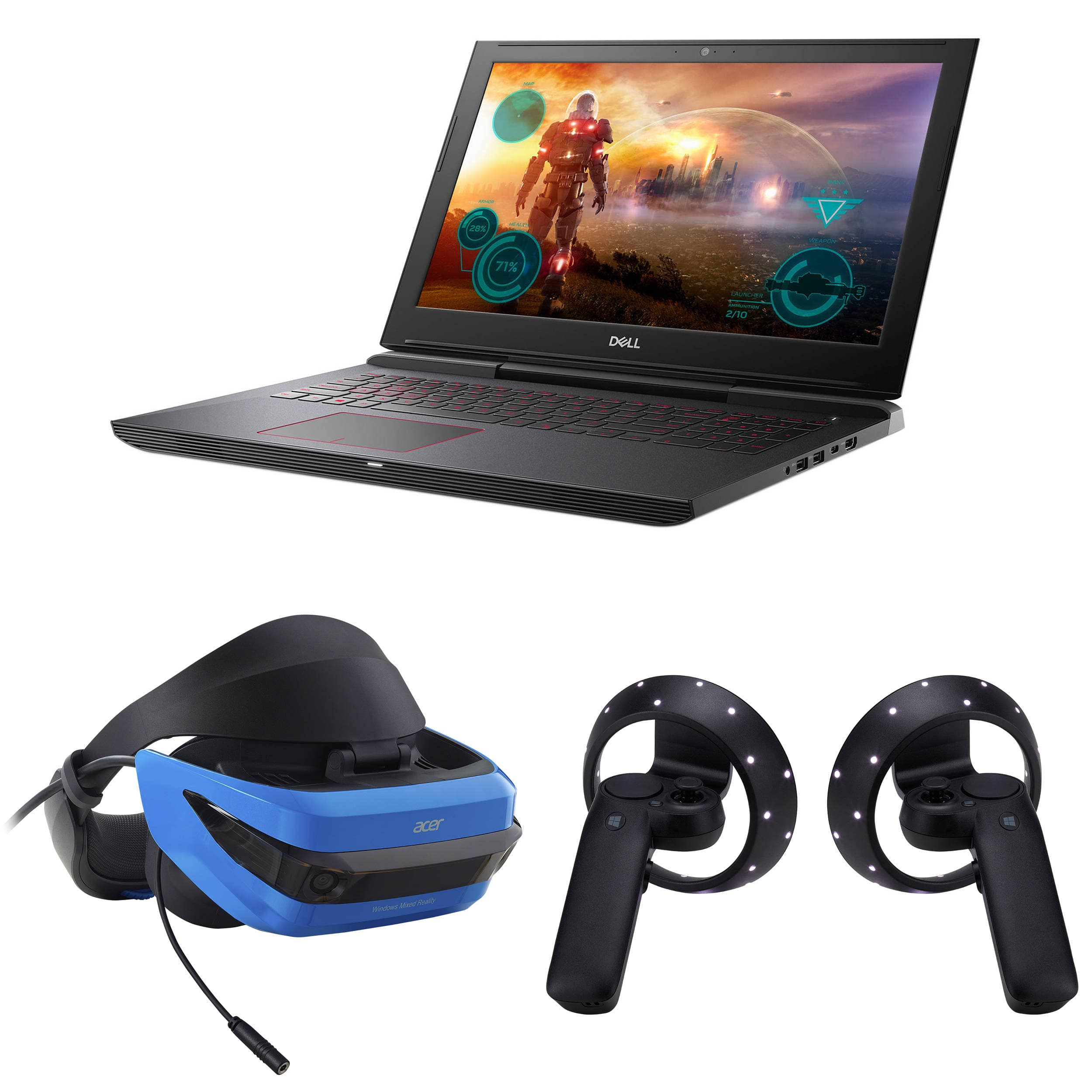 "Dell  15.6"" Inspiron 15 7000 Series Gaming Notebook w/ Acer or Lenovo Mixed Reality Headset  $999 @ B&H Photo w/ Free Shipping"