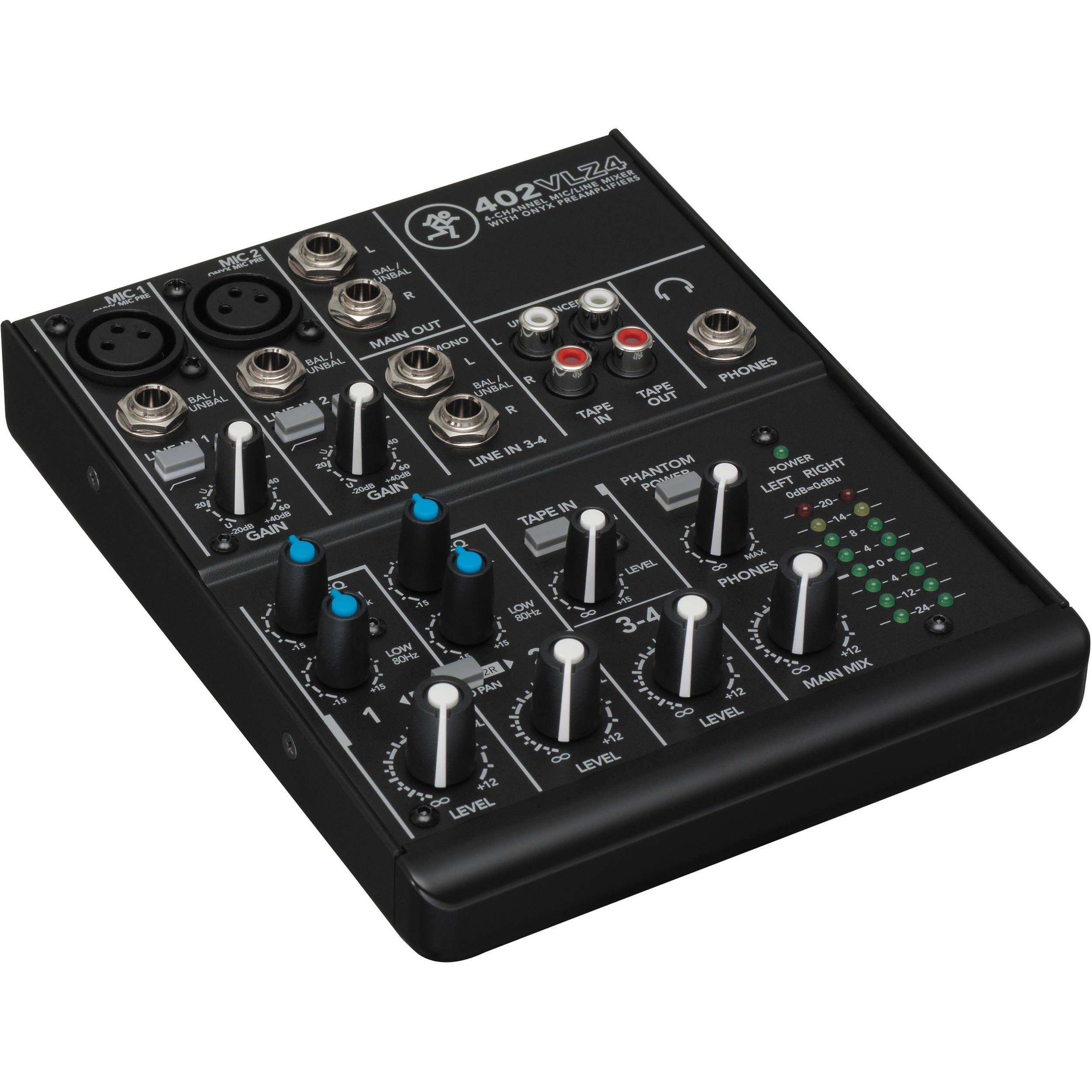 Mackie  402VLZ4 4-Channel Ultra-Compact Mixer $69.99 @ B&H Photo w/ Free Shipping