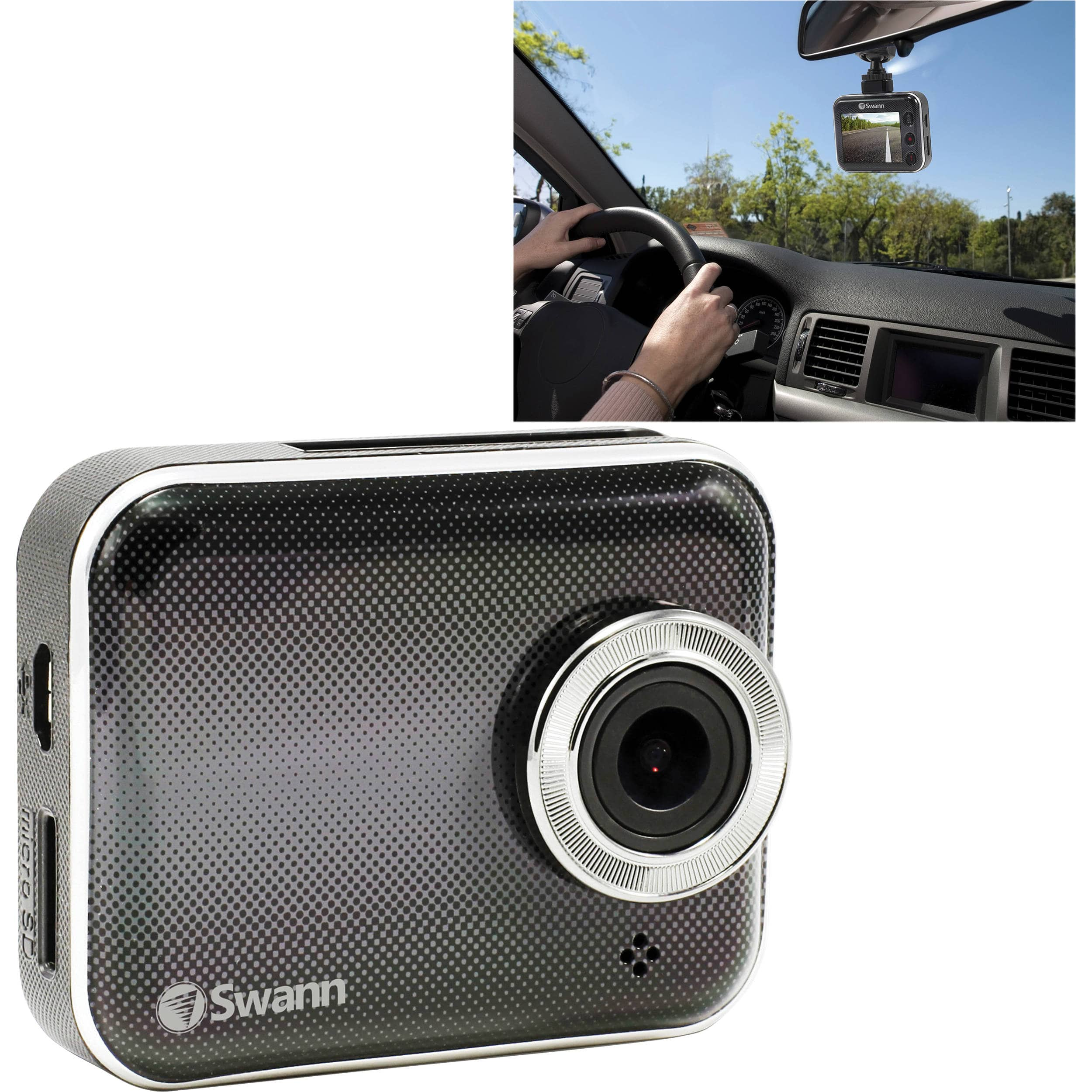 Swann  Smart HD Dash Camera with Wi-Fi & Mobile App $49.99 @ B&H Photo w/ Free Shipping