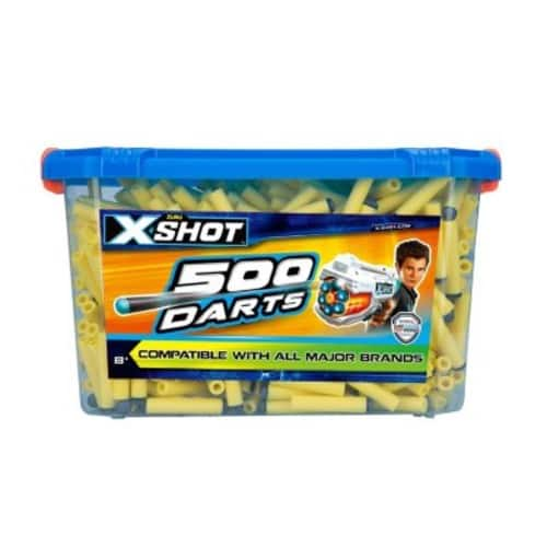X-Shot: 500-Ct. Foam Tip Bucket of Darts (Yellow) Compatible with Nerf and All Major Brands $9.71 or Cheaper YMMV @ Sams Club