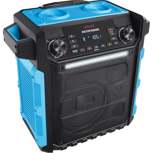 ION Audio Pathfinder Waterproof Rechargeable Speaker System (Blue or Yellow) $149.99 @ B&H Photo w/ Free Shipping