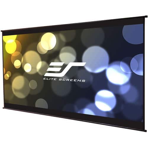 "Elite Screens DIY Wall 3 49 x 87"" Roll-Out Indoor/Outdoor Projection Screen $49.99 @ B&H Photo w/ Free Shipping"