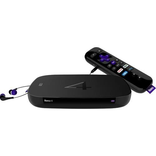 Roku 4 Streaming Media Player (4K/UHD) $69.95 B&H Photo w/ Free Shipping (or $59.95 w/ Google Pay Checkout)