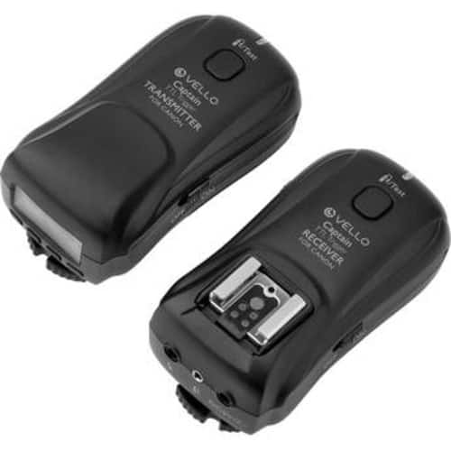 Vello FreeWave Captain Wireless TTL Triggering System for Canon or Nikon E-TTL SLRs $99.95 / 2 Receivers $149.95 @ B&H Photo w/ Free Shipping