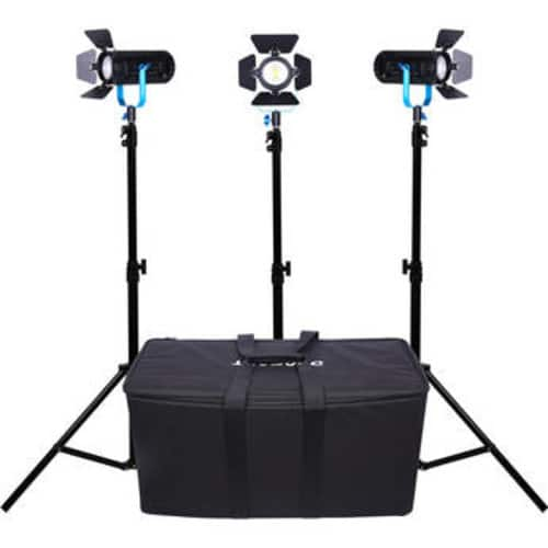 Dracast Boltray 600 Plus Daylight LED 3-Light Kit w/ Soft Case $549 / Bi-Color $599 Both w/ Free Battery Kit @ B&H Photo w/ Free Shipping