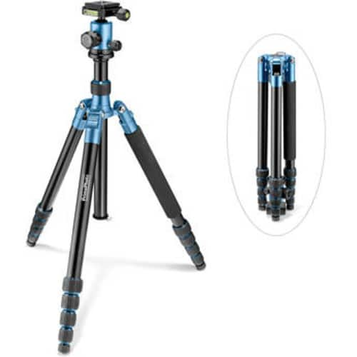 Prima Photo Big Travel Tripod (Blue)  $59.95 @ B&H Photo w/ Free Shipping