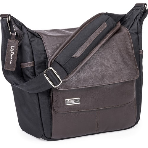 Lily Deanne Lucido Premium-Quality Camera Bag (Licorice or Chesnut) $69.95 @ B&H Photo w/ Free Shipping