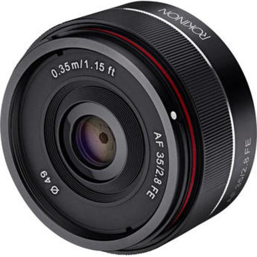 Rokinon AF 35mm f/2.8 FE Lens for Sony E  $259 @ B&H Photo w/ Free Shipping