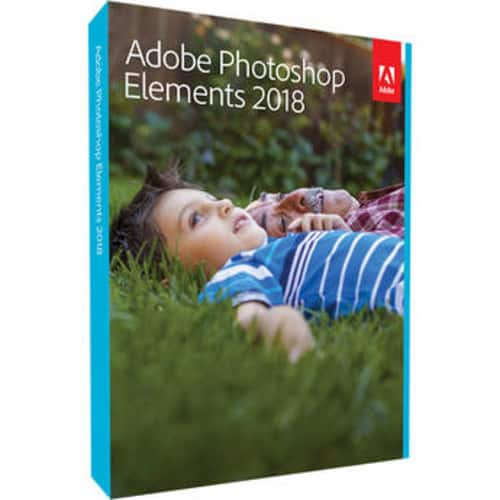 Adobe Photoshop Elements 2018 (Mac & Windows, Disc or Download) $59.99 @ B&H Photo w/ Free Shipping