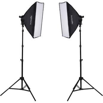 Interfit F5 Two-Head Fluorescent Lighting Kit $119.99 @ B&H Photo w/ Free Shipping