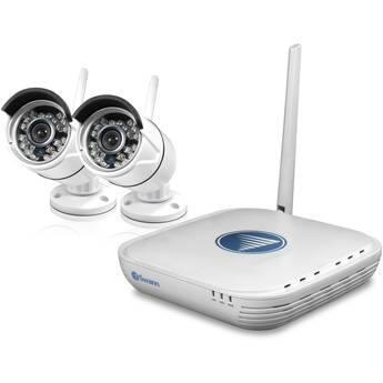 Swann 4-Channel 1080p NVR with 500GB HDD and 2 720p Outdoor Wireless Bullet Cameras $99.99 @ B&H Photo w/ Free Shipping