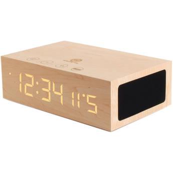 GOgroove BlueSYNC TYM Bluetooth Speaker with Integrated Alarm Clock (Light Wood) $29.99 @ B&H Photo w/ Free Shipping