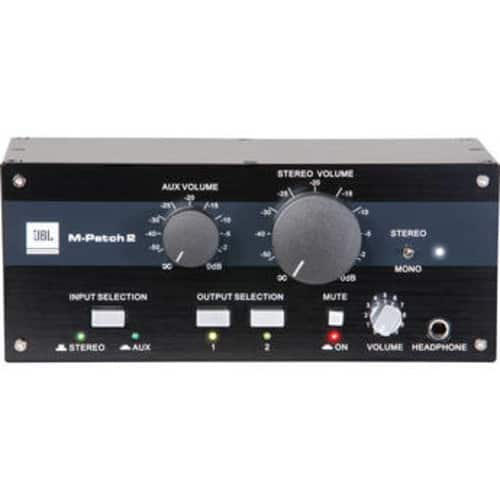 JBL M-Patch 2 Passive Stereo Controller and Switch Box $69 B&H Photo w/ Free Shipping