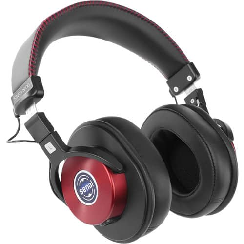 Senal SMH-1200 - Enhanced Studio Monitor Headphones (Burgundy) $59.99 @ B&H Photo w/ Free Shipping