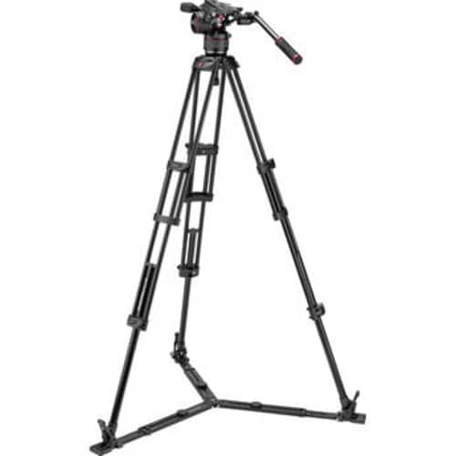 Manfrotto Nitrotech N8 Video Head & 546GB Pro Tripod with Ground-Level Spreader $549.95 @ B&H Photo w/ Free Shipping