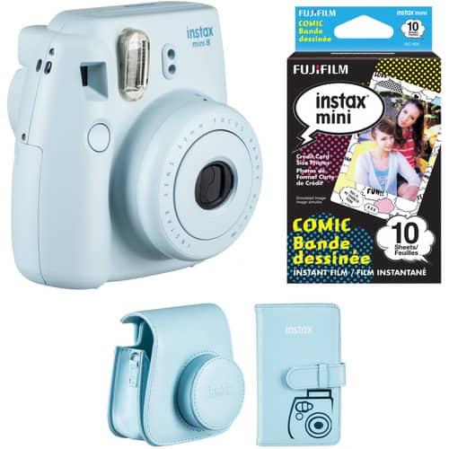 Fujifilm instax mini 8 Instant Camera Accessories Kit (Various Colors) $59.95 @ B&H Photo w/ Free Shipping
