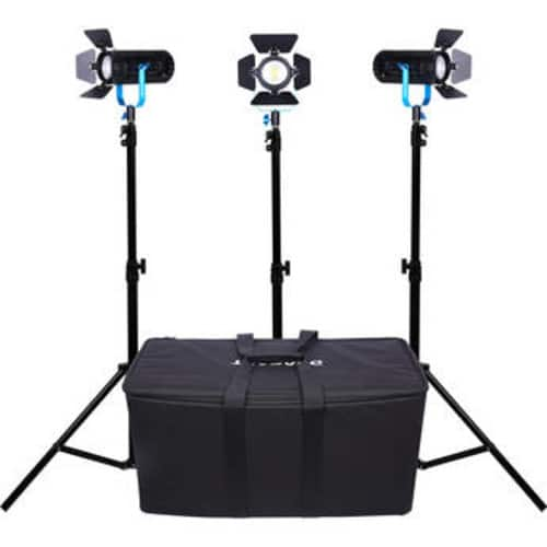 Dracast Boltray 600 Plus LED Bi-Color 3-Light Kit with Soft Padded Case $499 @ B&H Photo w/ Free Shipping