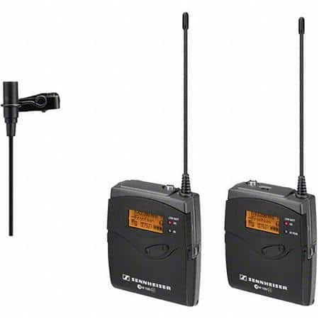 Sennheiser ew 112-p G3 Camera-Mount Wireless Microphone System with ME 2 Lavalier Mic - A (516-558 MHz) $399 @ B&H Photo w/ Free Shipping