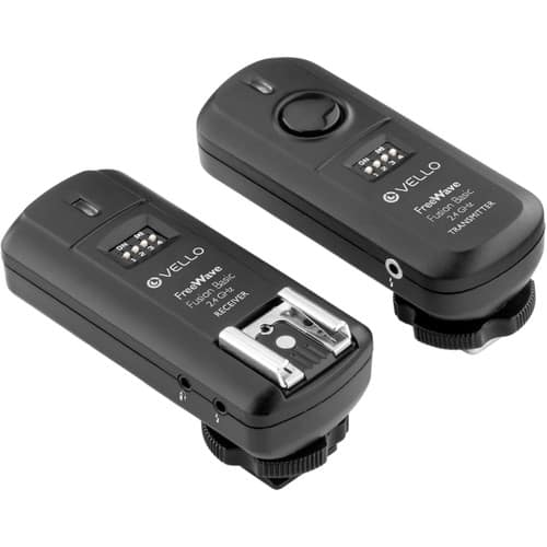 Vello FreeWave Fusion Basic 2.4 GHz Wireless Trigger System for Canon, Nikon, or Sony $27.95 @ B&H Photo w/ Free Shipping