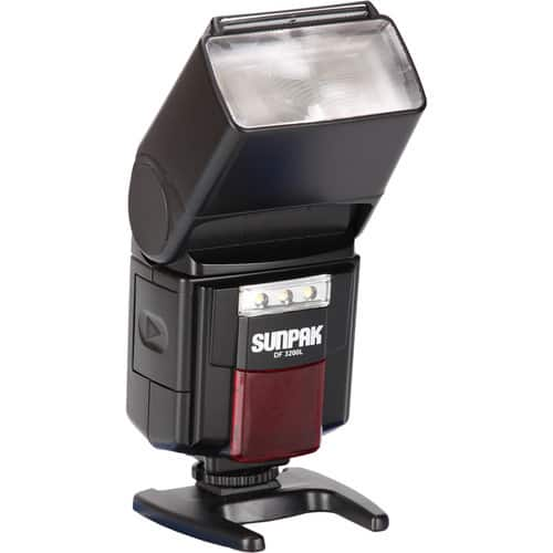 Sunpak DF3200L Flash with Built-in LED Video Lights $24.95 @ B&H Photo w/ Free Shipping